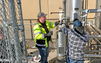 A pilot-scale distillation was completed utilizing the BCRF's distillation column to obtain whole stillage.