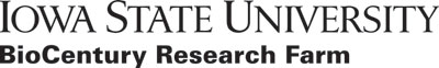 Left justified BioCentury Research Farm black logo