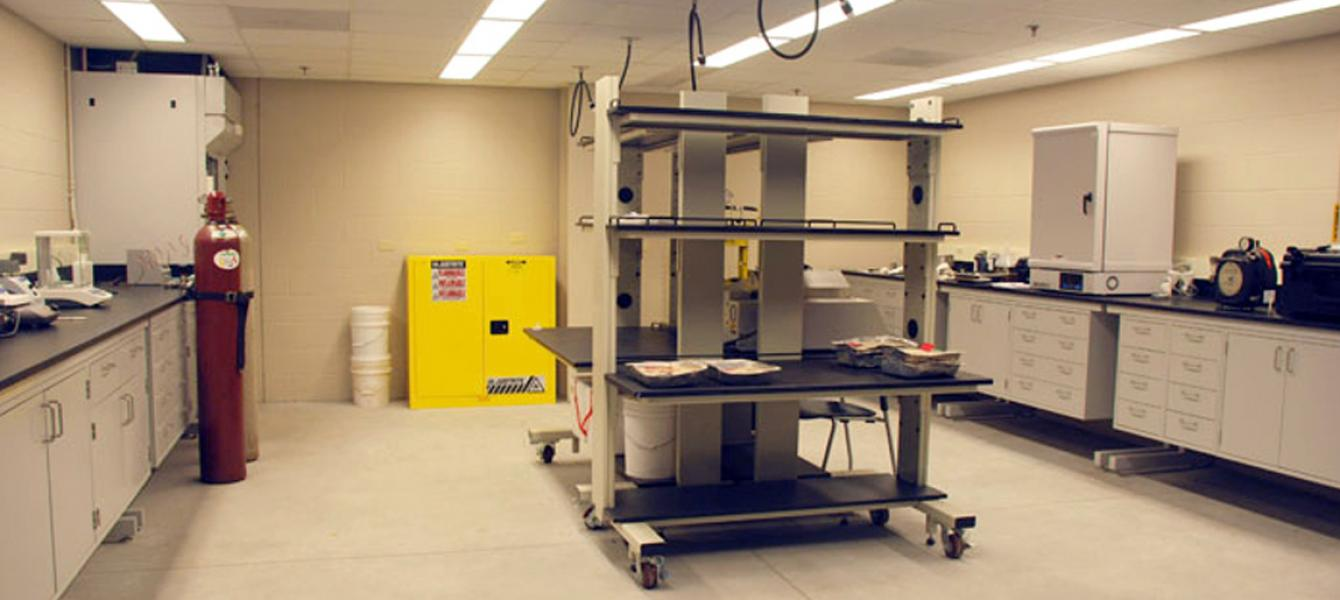 A look inside a research lab.